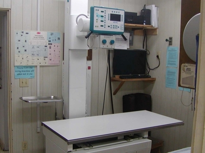 Radiology or Xray Suite with Digital System