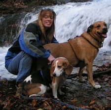 Terri and dogs