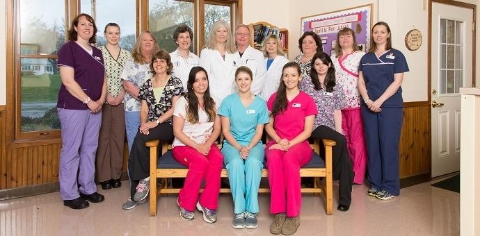 Earlysville Animal Hospital Staff April 2015