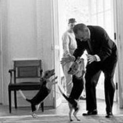 Pics of Presidents and Pets