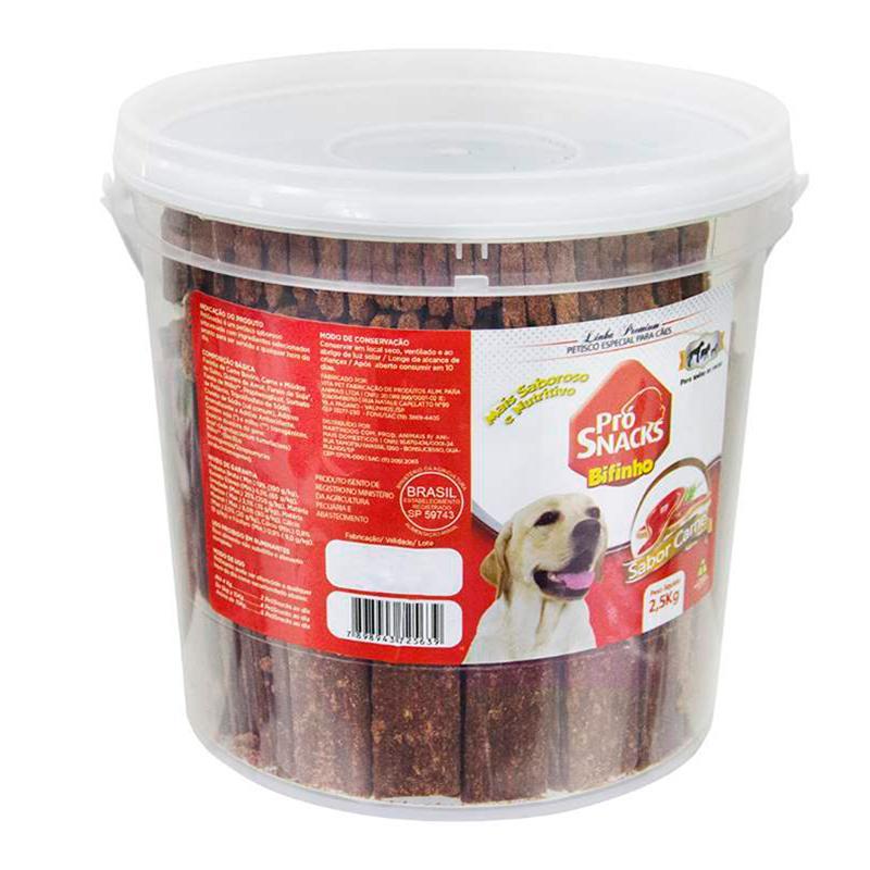 Bifinho Prosnack'S Carne 2,5Kg- Pote