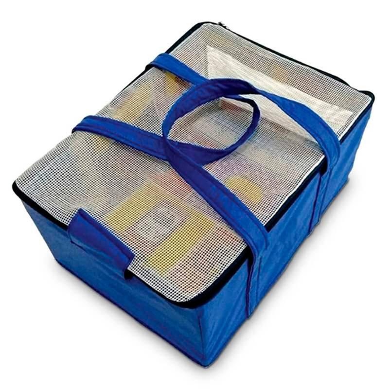 Bolsa Transporte Aereo padrão Azul