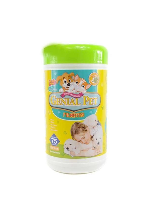 Lenços Umedecidos Genial Pet Filhotes