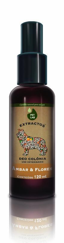 PetLab Extractos - Deo Colonia Canina - Âmbar e Flores - 120 ml