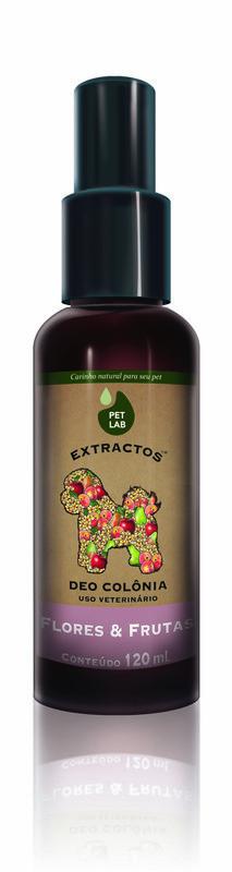 PetLab Extractos - Deo Colonia Canina - Frutas & Flores - 120 ml