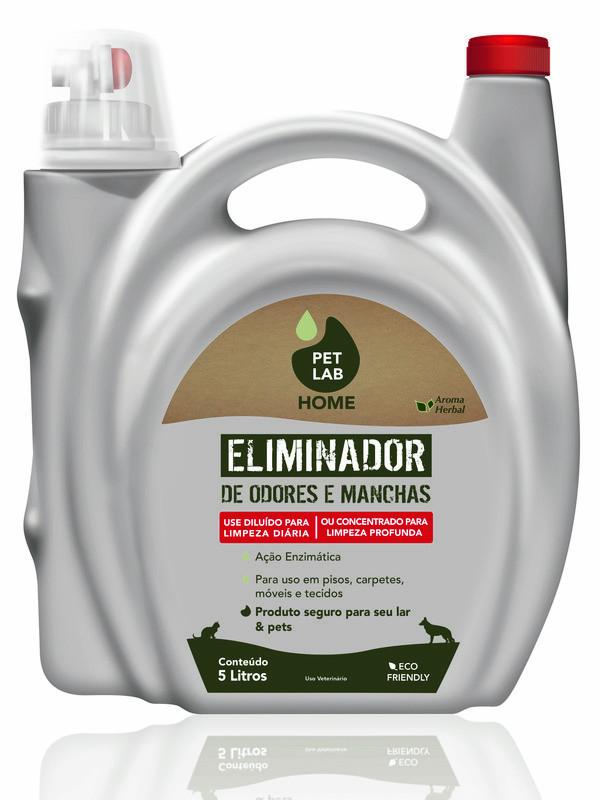 PetLab HOME - Eliminador de Odores e Manchas - 5 L
