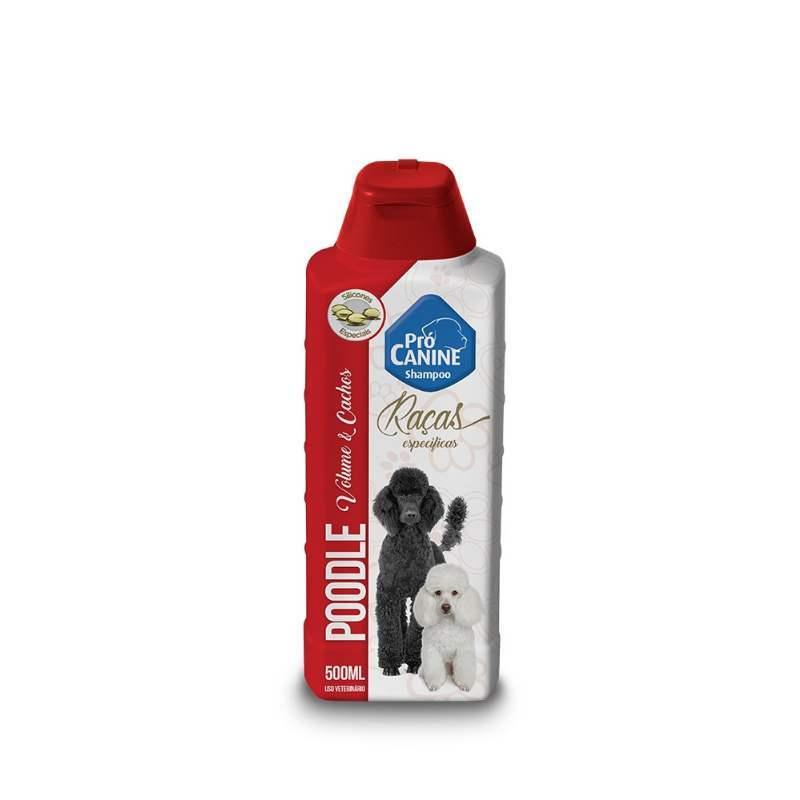 Shampoo Procanine Raças Poodle 500Ml