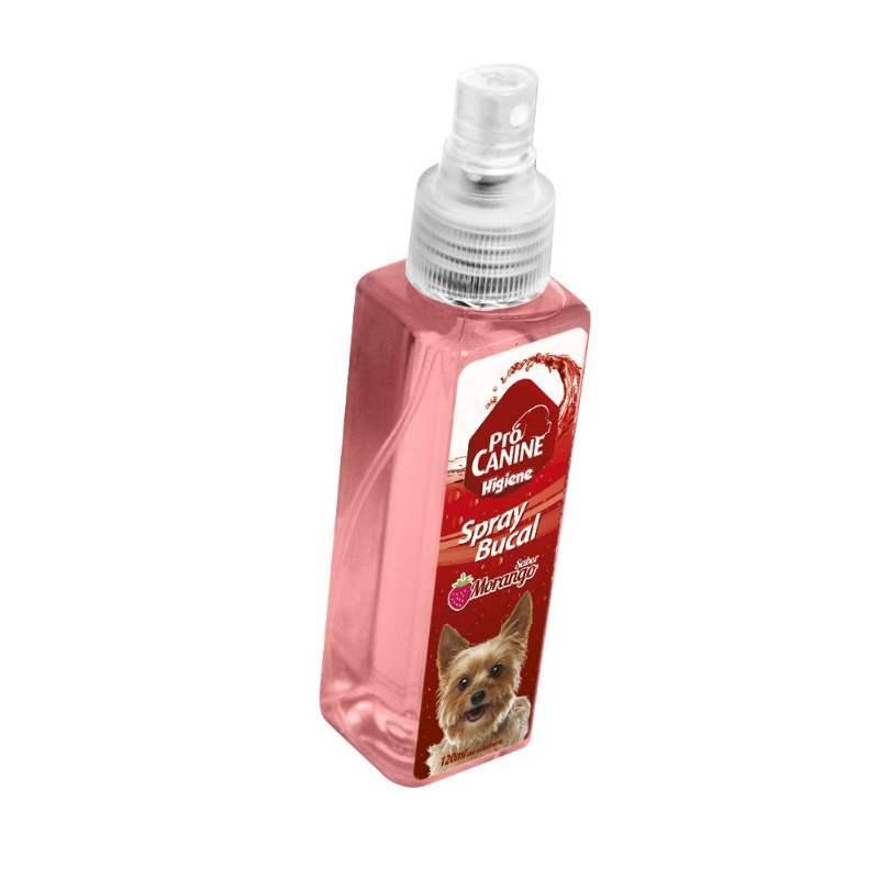Spray Bucal Procanine Morango 120 Ml
