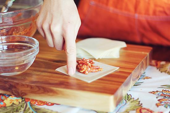 Skinny Pizza Rolls | Dashing Dish