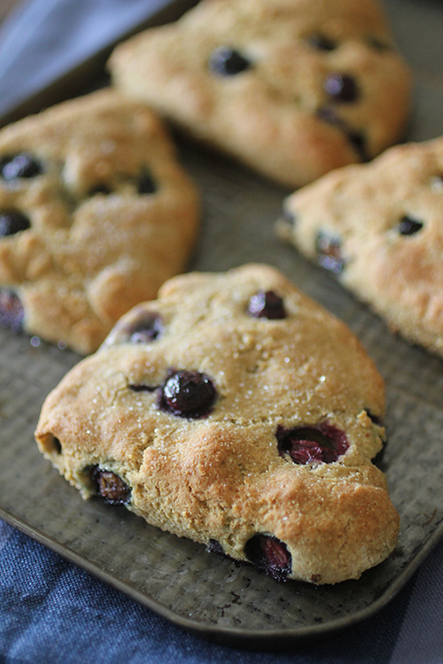 Clean Eating Blueberry Scones