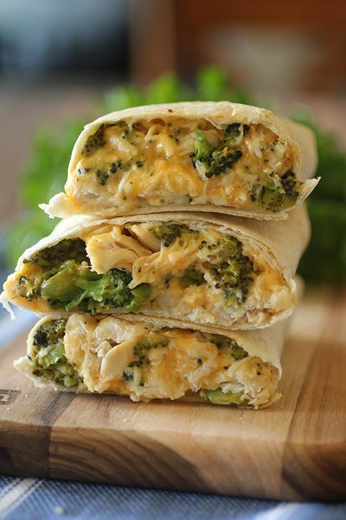Chicken Cheddar and Broccoli Hot Pockets