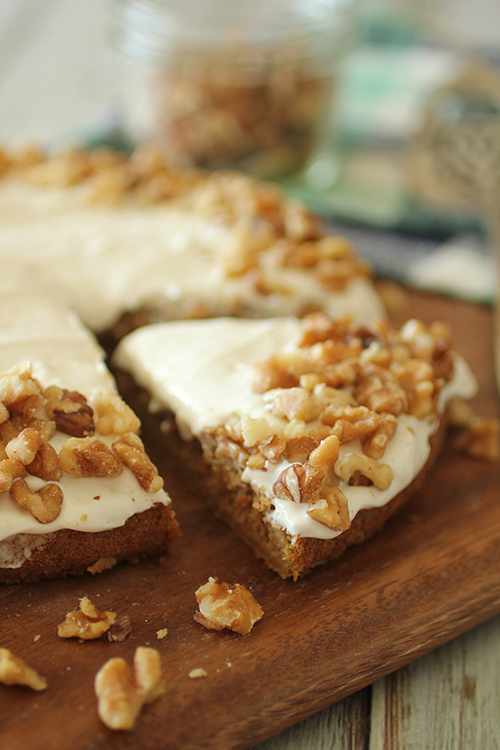 Clean Eating Carrot Cake