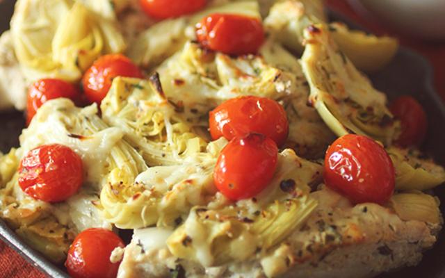 Greek Style Baked Chicken | Dashing Dish