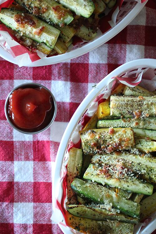 Zucchini Parmesan Fries
