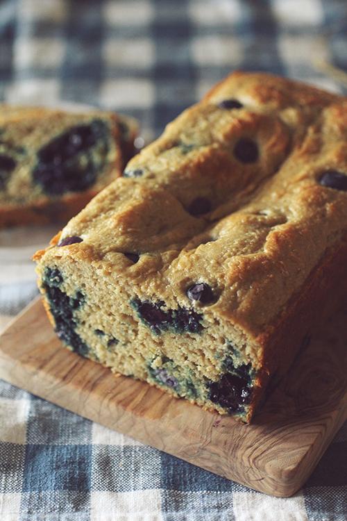 Vanilla Blueberry Protein Bread