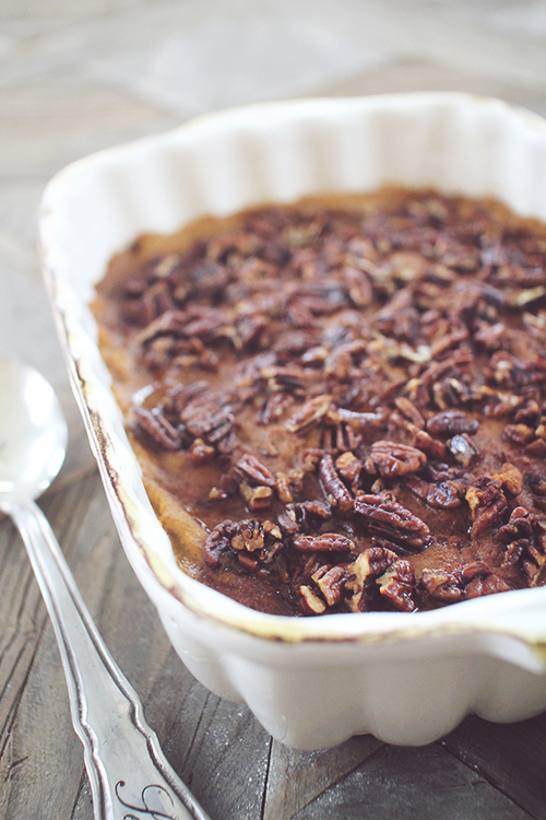 Slow Cooked Sweet Potato Casserole