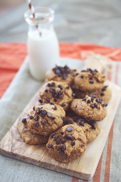 Soft Baked Pumpkin Protein Cookies | Dashing Dish