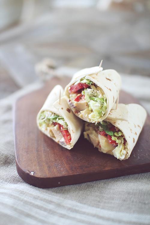 Cobb Chicken Salad Sandwich
