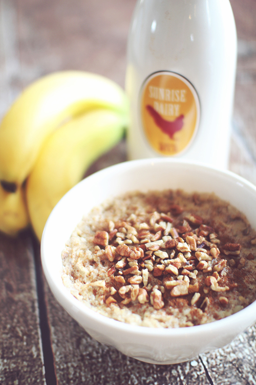 Protein Packed Banana Bread Oatmeal