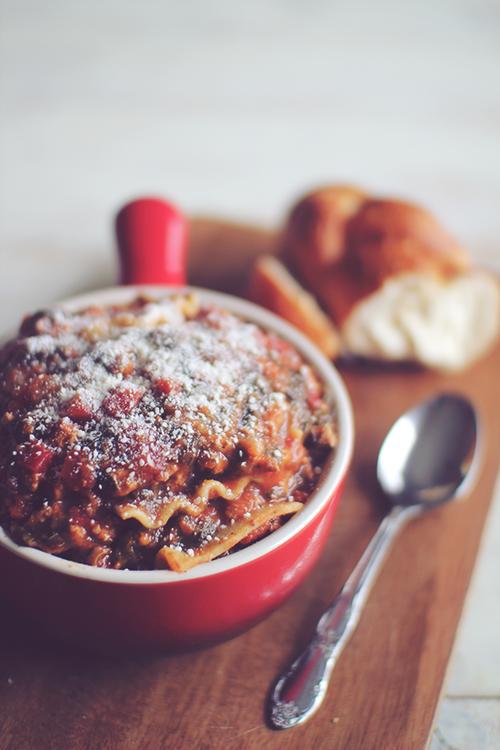 Skinny Italian Lasagna Soup