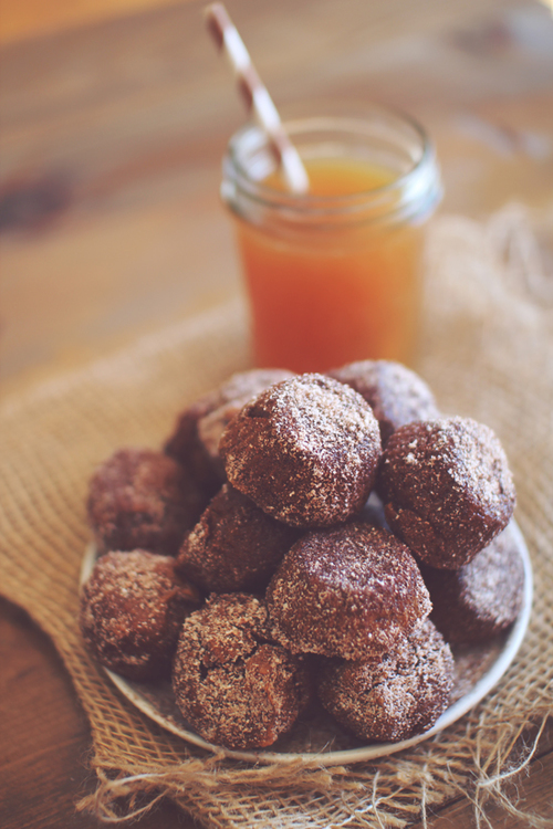Protein Packed Pumpkin Donut Holes