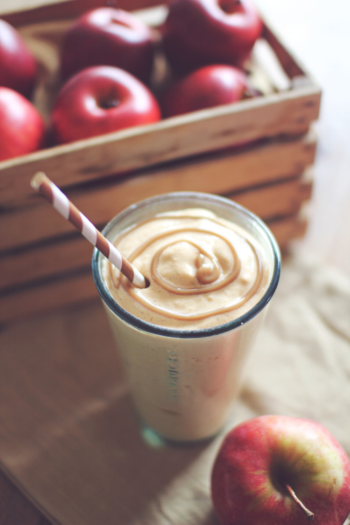 Caramel Apple Pie Protein Shake