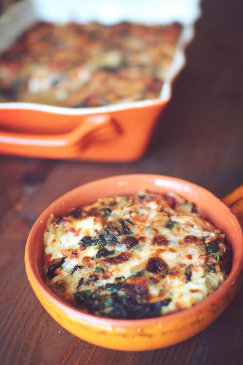 Spaghetti Squash Low Carb Lasagna | Dashing Dish