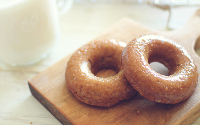 Baked Maple Donuts (Grain Free) | Dashing Dish