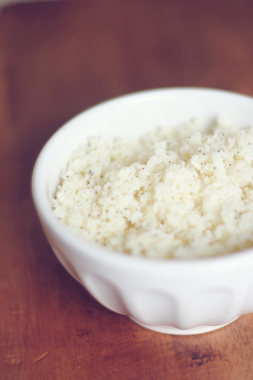 "Low Carb ""White Rice"""