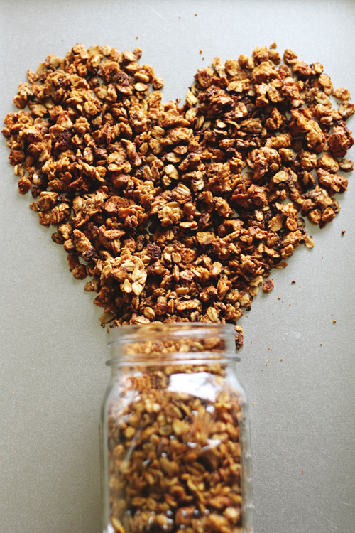 Skinny Peanut Butter Cookie Granola