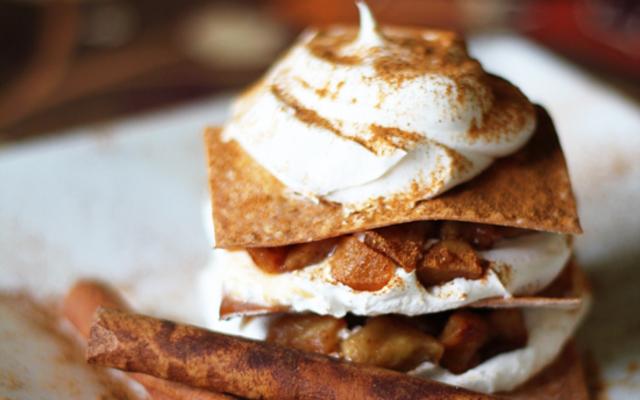 Layered Apple Pies | Dashing Dish