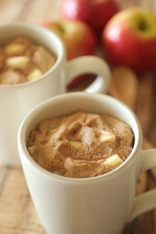 Apple Spice Mug Cake