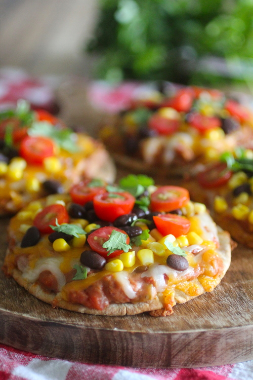 Personal Taco Pizzas
