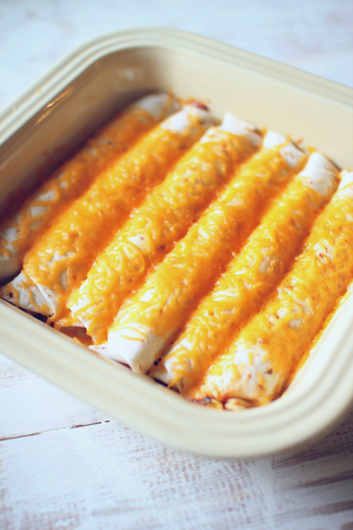 Easy Cheesy Burritos