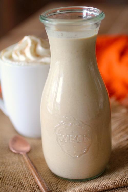 Clean Eating Pumpkin Spice Coffee Creamer