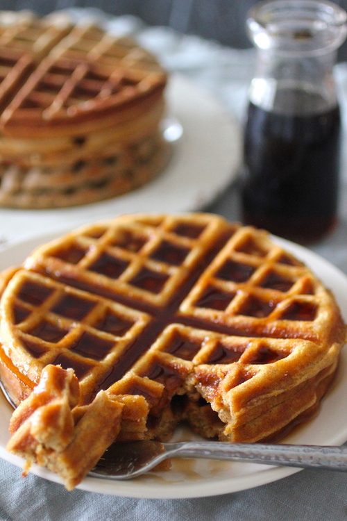 Clean Eating Freezer Waffles
