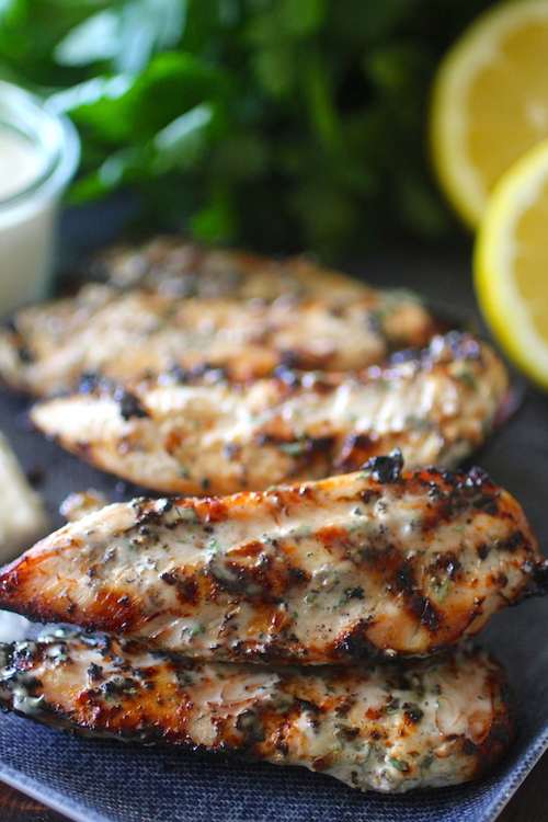 Grilled Ranch Chicken Tenders