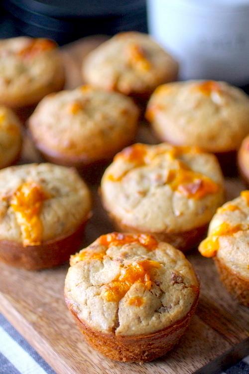 Sausage Cheddar Breakfast Muffins