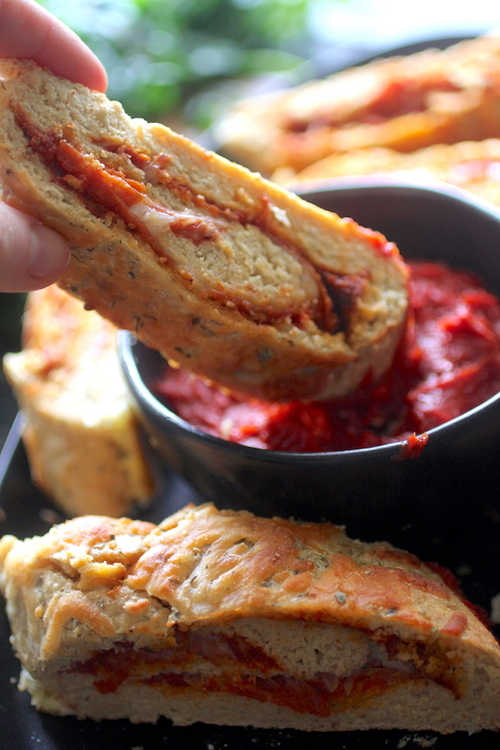 Quick & Easy Clean Eating Pizza Stromboli