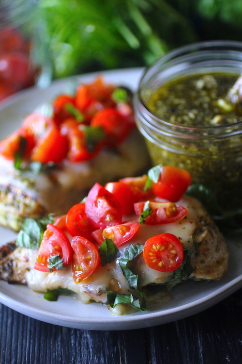 Margherita Grilled Chicken
