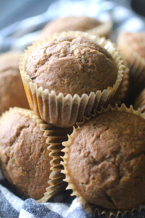 Low Carb Zucchini Muffins