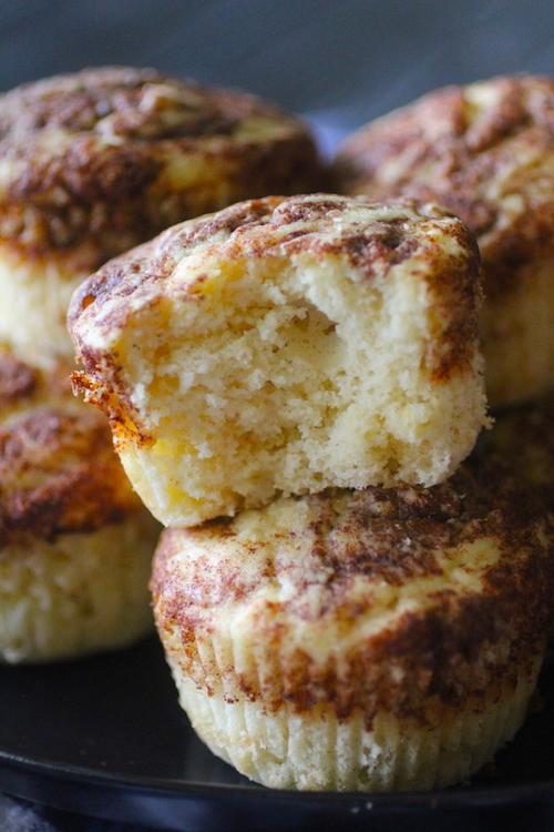 Cinnamon Swirl Grain Free Muffins