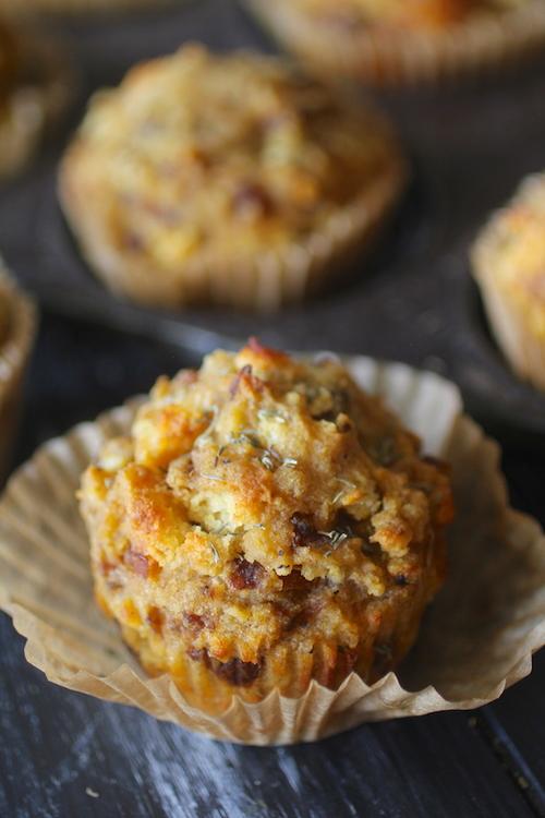 Cornbread & Sausage Stuffing Muffins