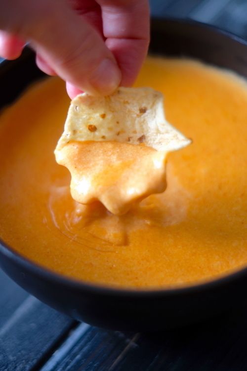 3 Ingredient Clean Eating Nacho Cheese Dip
