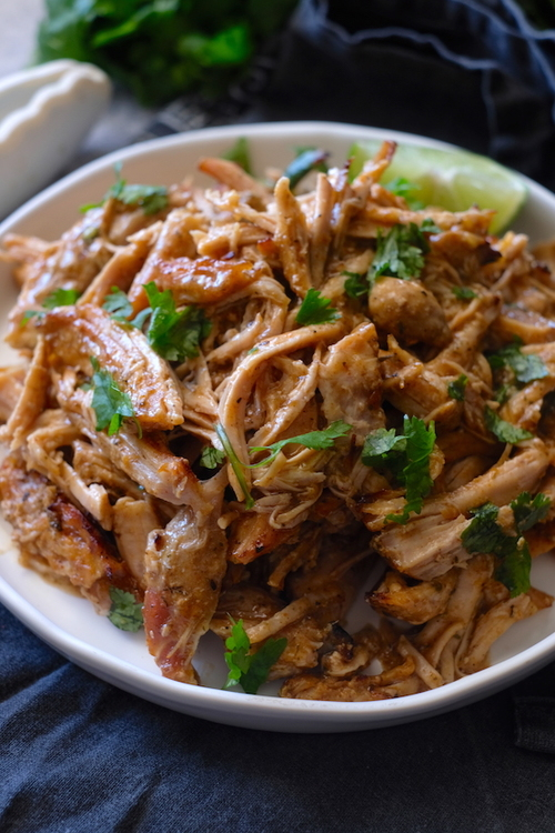 The Best Crockpot (Or Instant Pot) Chile Lime Carnitas