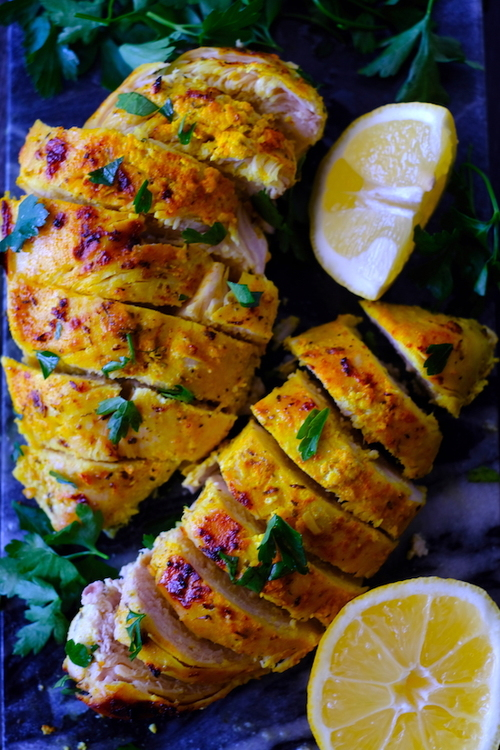 The Best Lemon Garlic Grilled Chicken