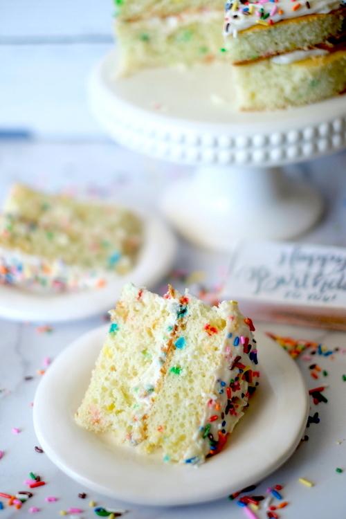 Clean Eating Funfetti Cake