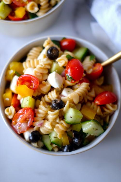 The Easiest Gluten Free Italian Pasta Salad