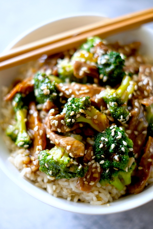 Crockpot or Instant Pot Mongolian Beef & Broccoli