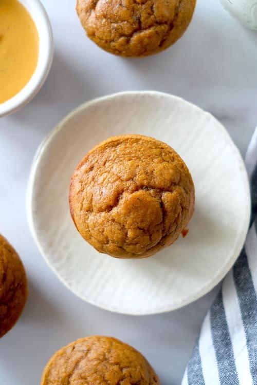 Pumpkin Peanut Butter Muffins